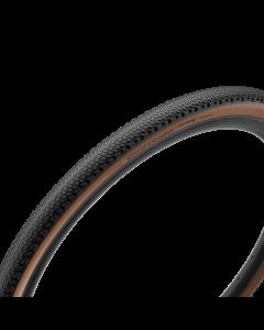 Pirelli Cinturato Gravel H 700x35C Classic - sort/brun - 3770700 - allbike.dk