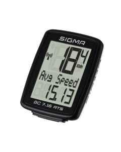 Sigma Sports cykelcomputer BC 7.16 ATS trådløs - 4907162