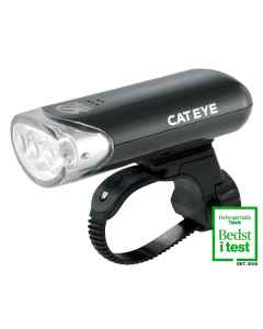 Cateye Forlygte HL-EL135N sort  - 3 LED - 5081135N - allbike.dk