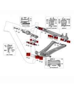 Kugleleje kit til Specialized EPIC 2018-2020 - S180600001