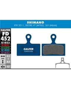 Bremseklods Galfer G1455 Shimano XTR/XT - FD452G1455 - allbike.dk