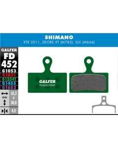 Bremseklods Galfer G1554T Shimano XTR/XT - FD452G1554T - allbike.dk