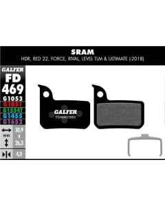 Bremseklods Galfer G1053 SRAM Level/Red/Force - FD469G1053 - allbike.dk