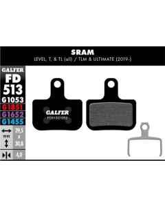 Bremseklods Galfer G1053 SRAM Force/Level/Red - FD513G1053 - allbike.dk