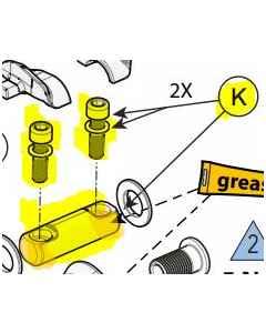 Cannondale Scalpel Shock Reducer Lower - K91011 - allbike.dk