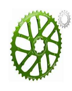 OneUp klinge 1x10 speed 42T + 16T grøn