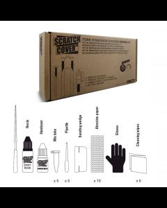 Sendhit reparationskit til gaffelben - Sort - ART00000001 - allbike.dk