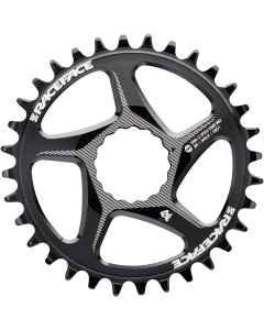 RaceFace Klinge Narrow/Wide Cinch Shimano 12 speed - Sort - RNWDMxxSHI12BLK - allbike.dk