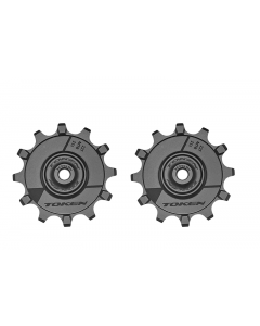 Pulleyhjul TOKEN SRAM/Shimano 1x11 12T - 2 stk -TK1722X - allbike.dk