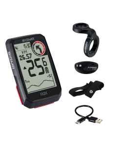 Sigma Sport ROX 4.0 GPS cykelcomputer - HR kit - Sort - 4901062 - allbike.dk