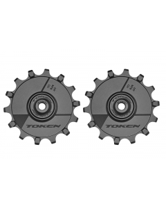 Pulleyhjul Token Alu SRAM/Shimano 12 speed MTB - Sort - 14/14T - TK1744X - allbike.dk