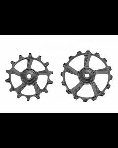 Pulleyhjul Token 1746MX Alu - 1x12 - 14/16T  - TK1746MX - Sort - allbike.dk