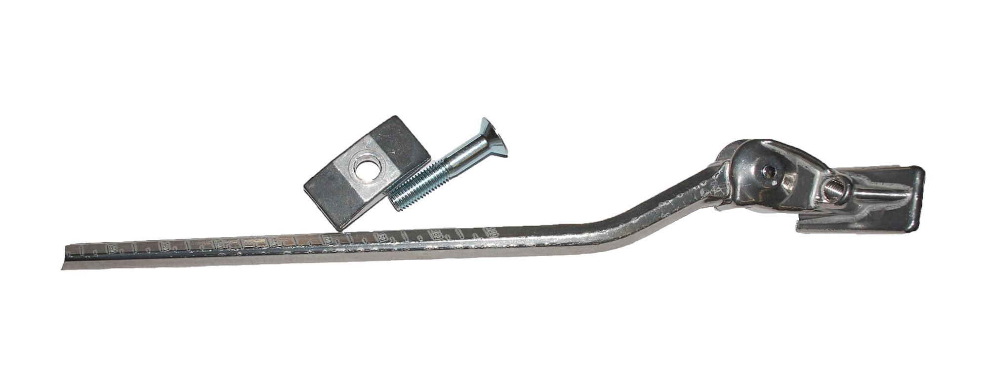 Støtteben ESGE Universal 295 mm bred beslag - sølv - 0335010 | Stands