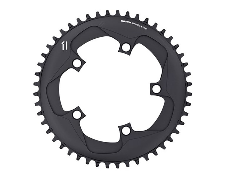 SRAM Klinge Road X-Sync BCD110/5 sort 10/11 speed - 11.6218.019.00x | chainrings_component