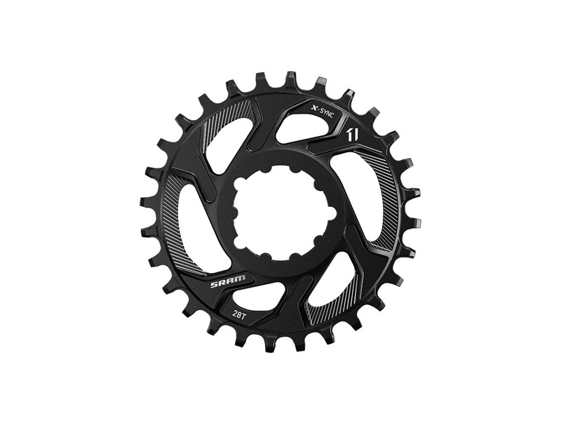 SRAM Klinge Spiderless X-Sync Boost 3 mm off set - stål - 11.6218.027.0xx | chainrings_component