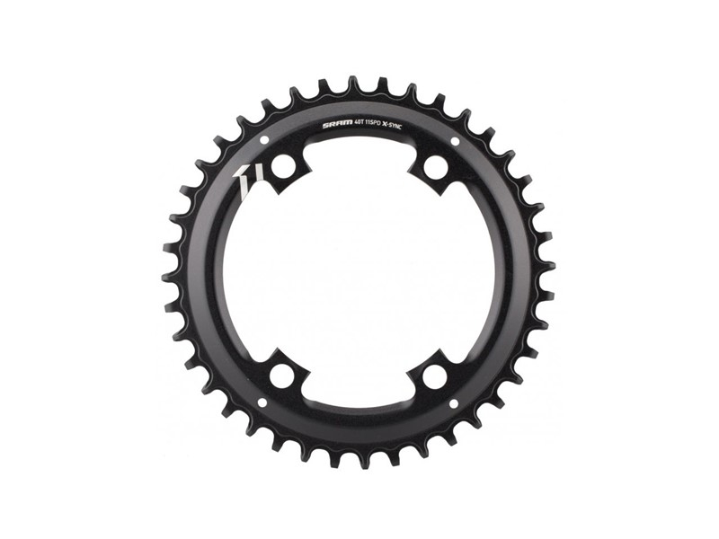 SRAM klinge BCD110/4 asym NW - sort - 11.6218.037.0x0 | chainrings_component
