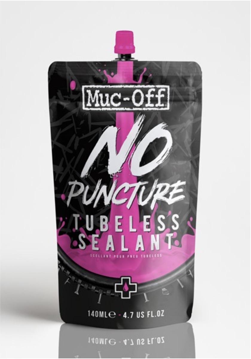 Muc Off No Puncture Tubeless sealant - 140 ml - 827-S | Repair Kit