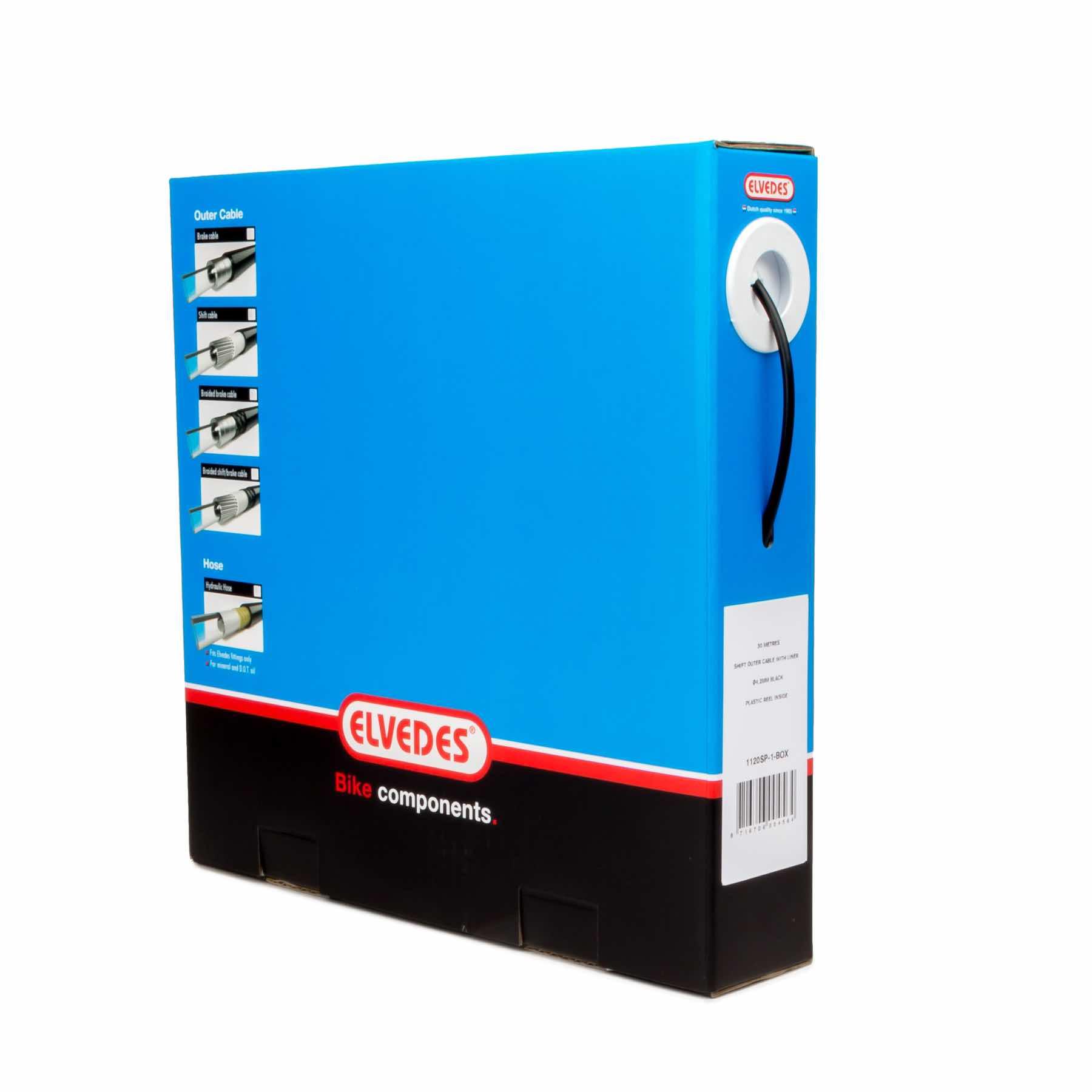 Elvedes Hydraulisk Bremseslange - sort - EL2012030 | Brake cables