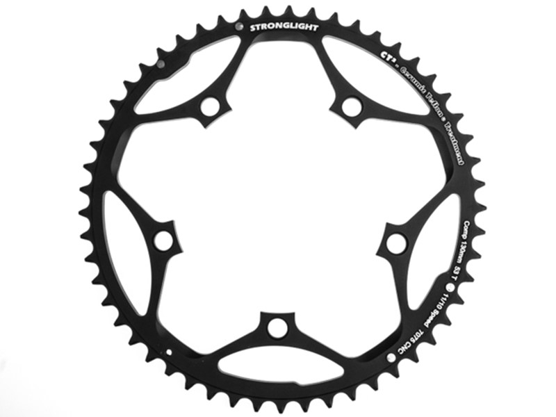 Stronglight Klinge BCD 130/5 10/11 speed - 53T - 272611 | chainrings_component