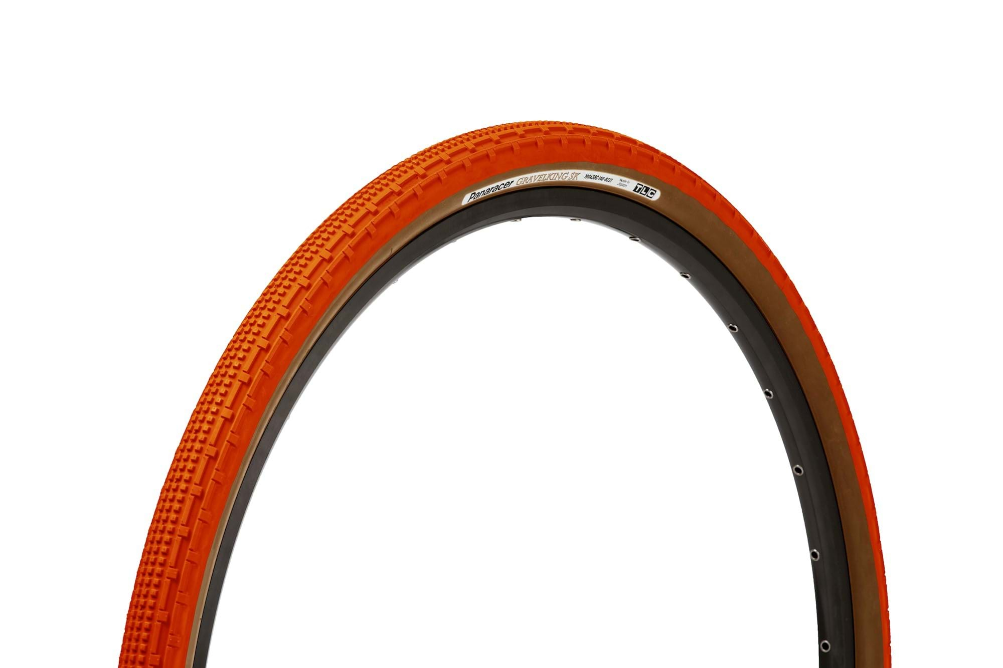 Panaracer GravelKing SK 700Cx38 Orange/brun - 3410990 | Dæk