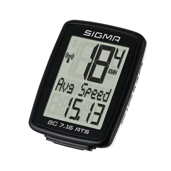 Sigma Sports cykelcomputer BC 7.16 ATS trådløs | Cykelcomputere