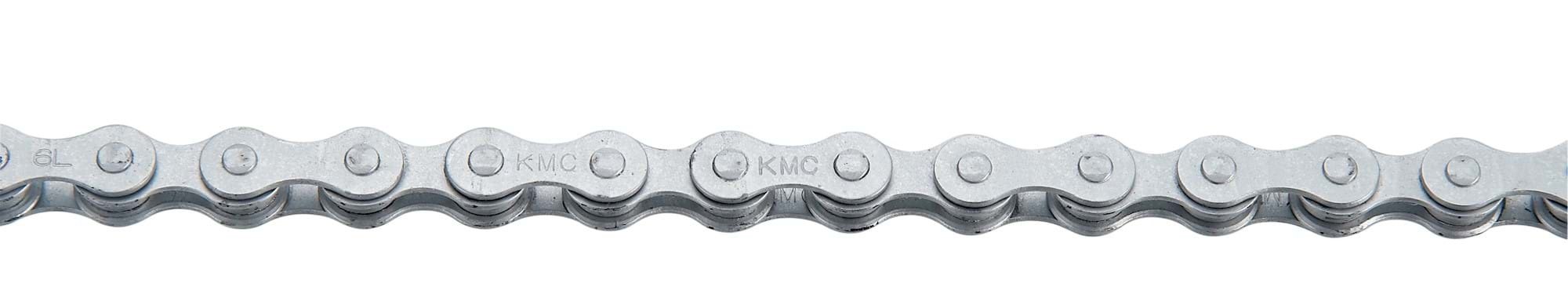 Kæde 1 speed KMC 410RB Rustbuster 1/2x1/8 til indv gear - 75020110 | Chains