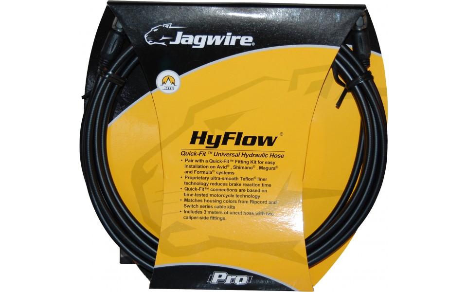 Bremseslange Jagwire HyFlow Quick-Fit 3000 mm - sort - HBK400 | Brake cables