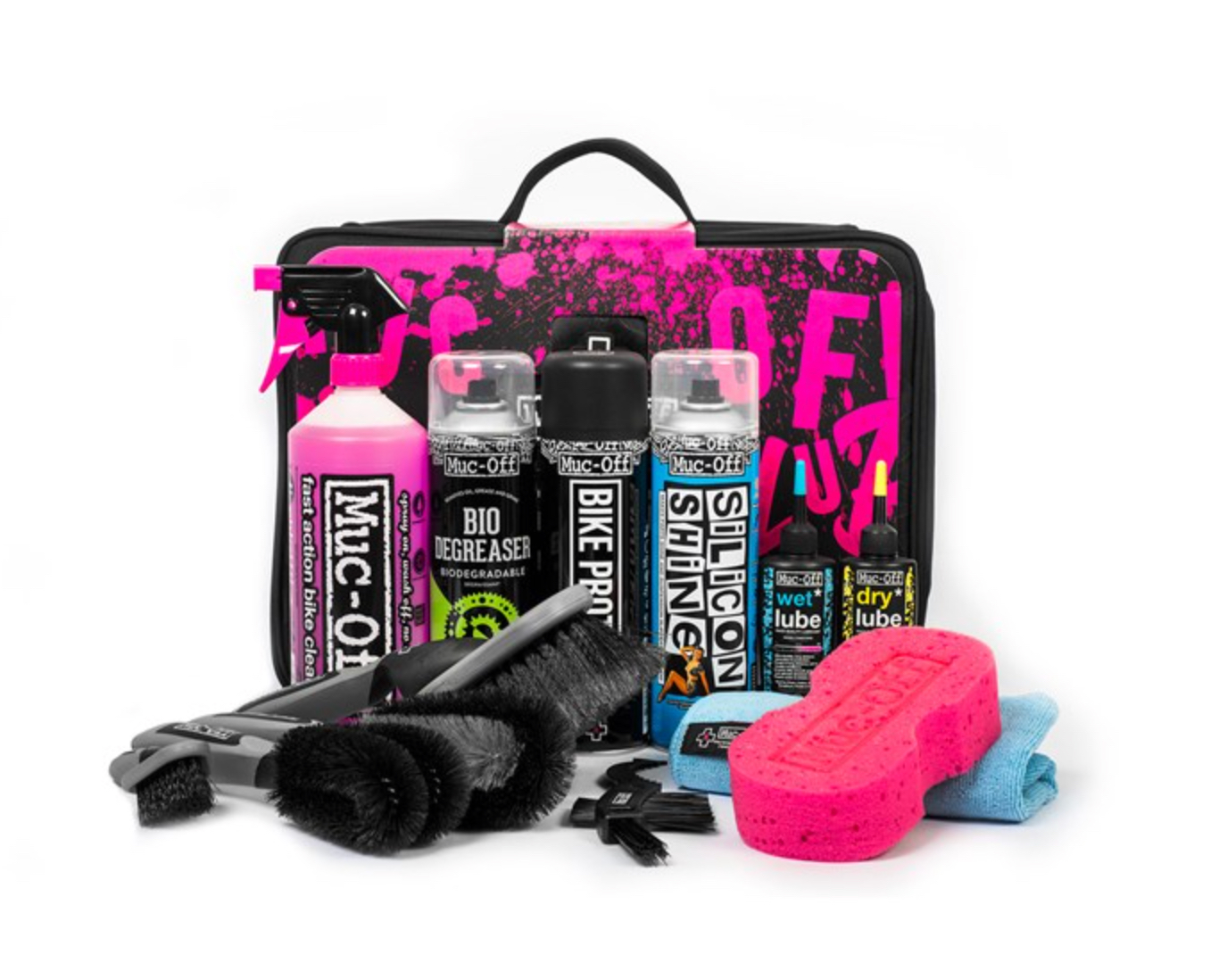 Muc Off Ultimative Rengøringskit - 382-S | polish_and_lubricant_component