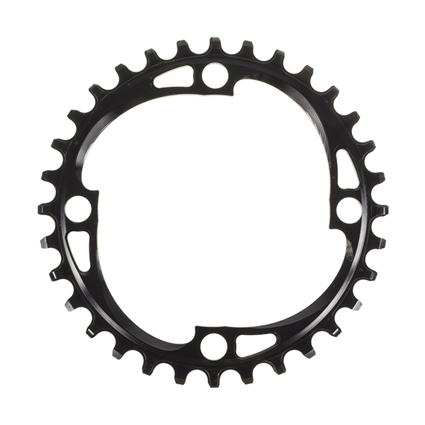 AbsoluteBlack Klinge Narrow/Wide BCD 104 - sort - SHxxBK | chainrings_component