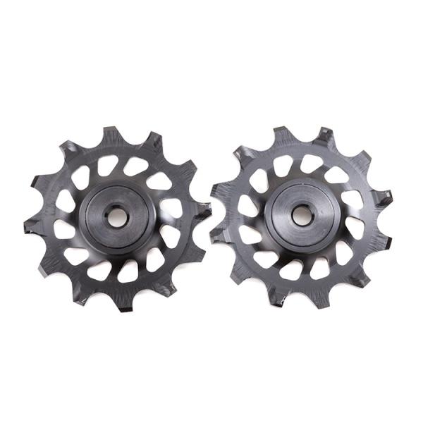 Pulleyhjul AbsoluteBlack SRAM XX1-X01-X1-GX 12T - 2 stk - 12TXX1 | Pulley wheels