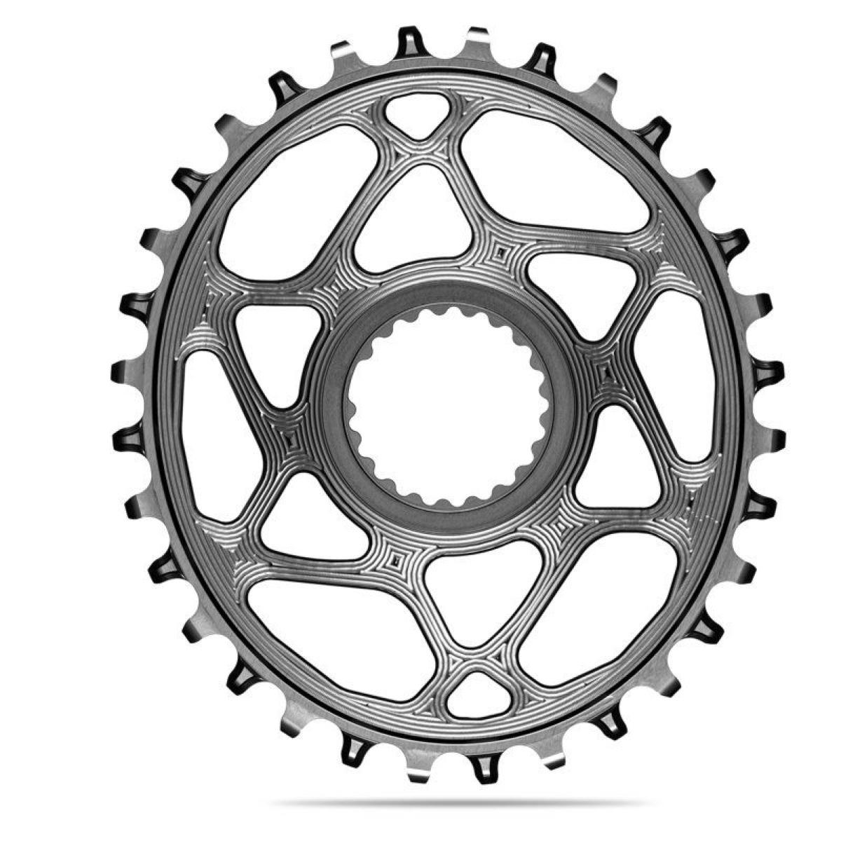 AbsoluteBlack Klinge NW Shimano 12 speed OVAL - Grå - SHDMOVxxGR | chainrings_component