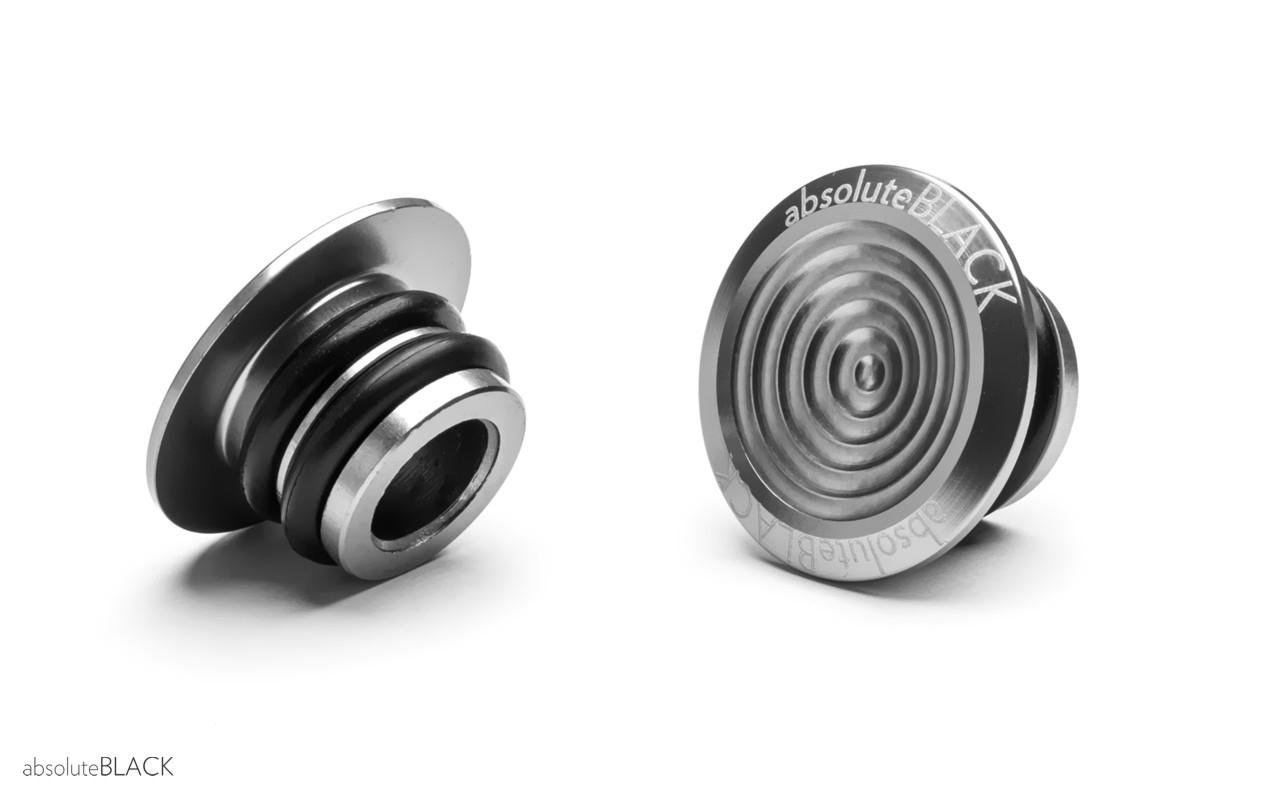 Styrprop AbsoluteBLACK alu - Grå - ABBARPLUGGR | Handlebar end plugs