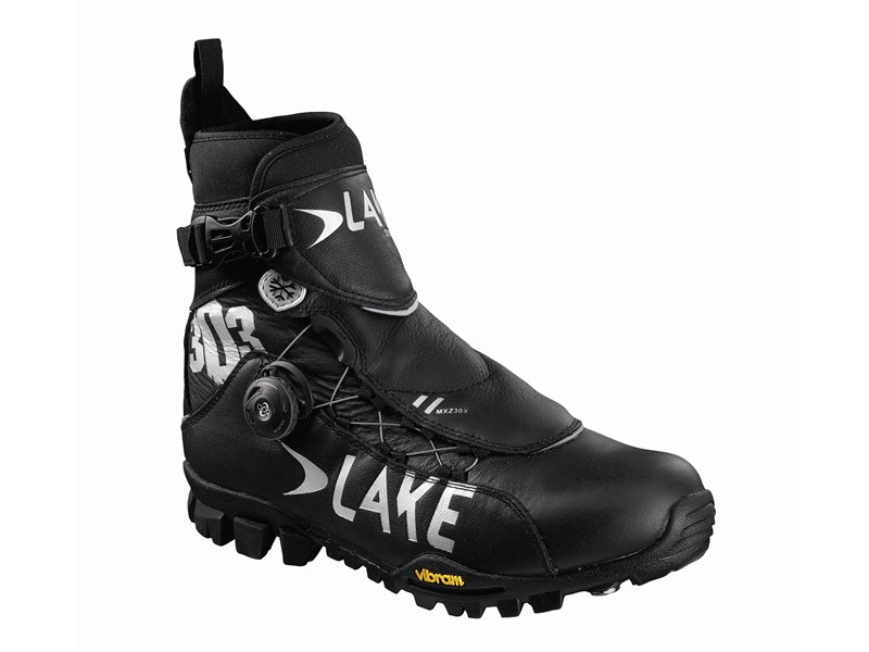 MTB Vinterstøvle Lake MXZ303 std - Sort | Shoes and overlays
