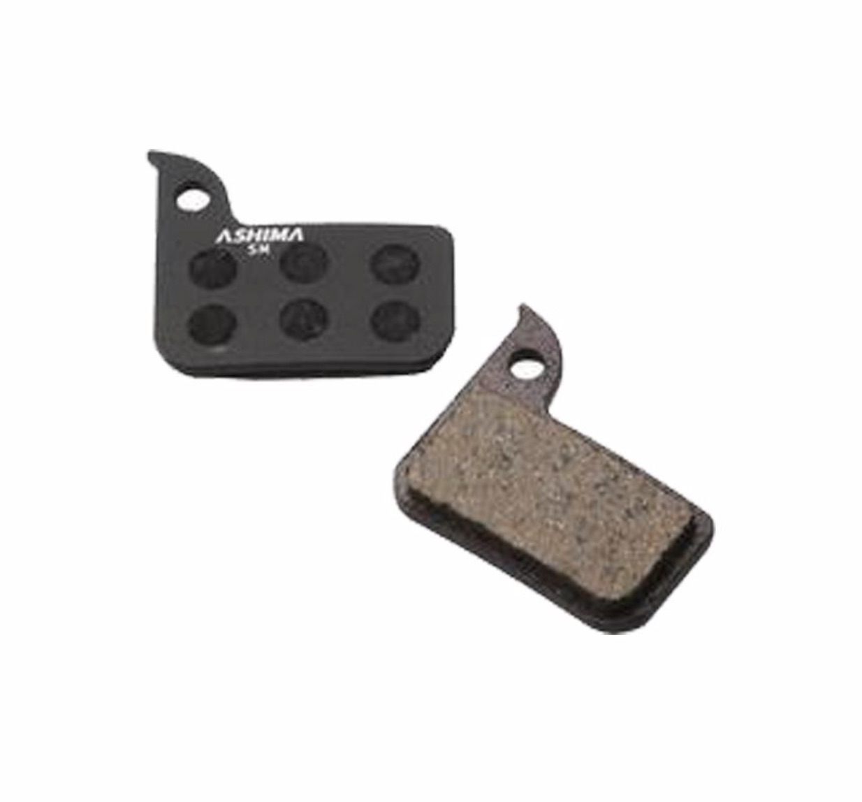 Bremseklods Ashima SRAM Level/Red/Force Organic - AS-AD0707-OR | Brake pads