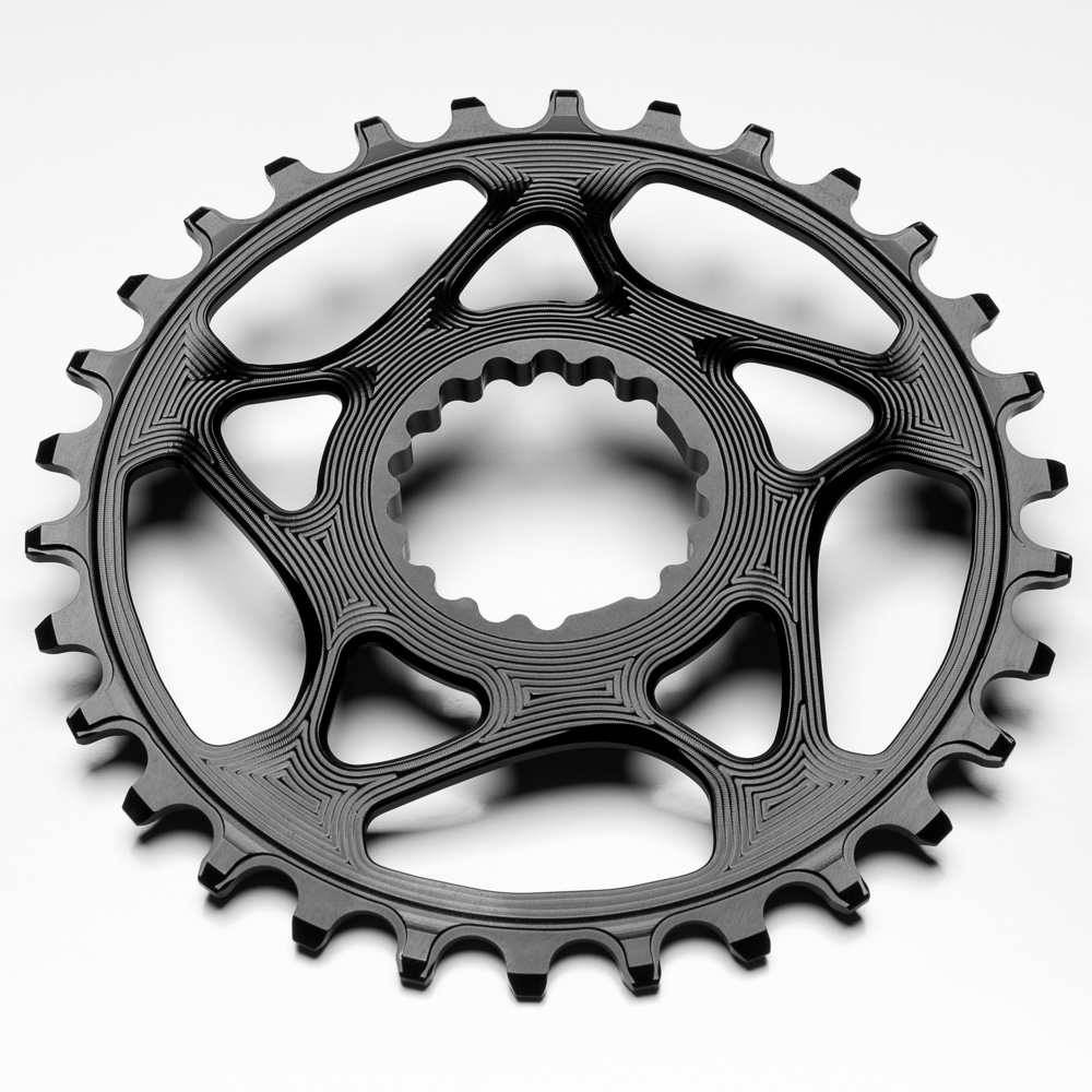 AbsoluteBlack Klinge NW Spiderless Cannondale Hollowgram Sort - CNxxBK | chainrings_component