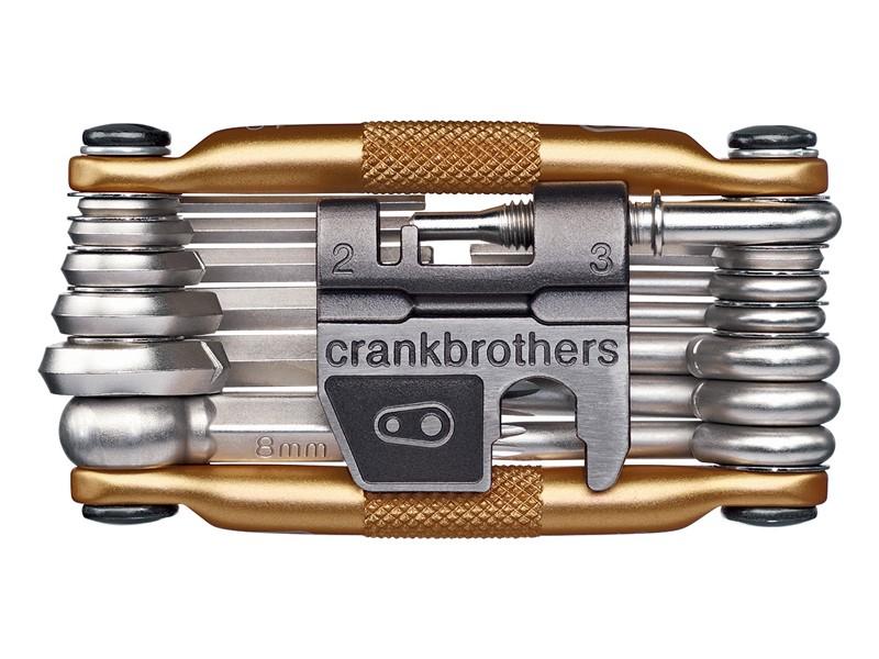 Multi tool Crankbrothers M19 - Guld - CB10758   Multi- og miniværktøj