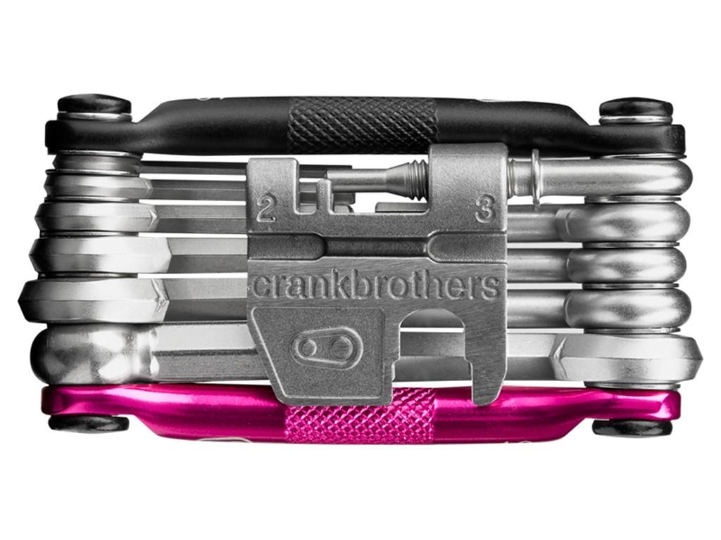 Multi tool Crankbrothers M17 - Sort/Pink - CB15995   Multi- og miniværktøj