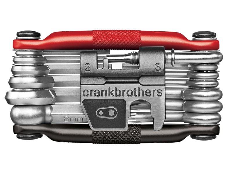 Multi tool Crankbrothers M19 - Sort/Rød - CB16192 | multi_tools_component