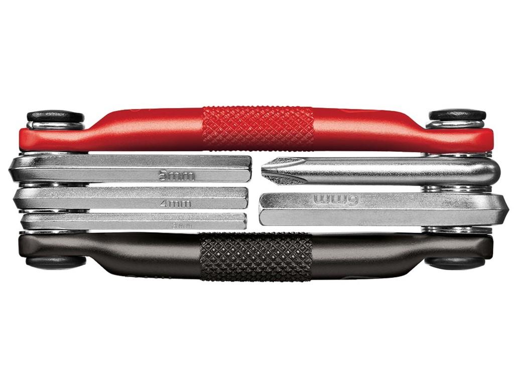 Multi tool Crankbrothers M5 - Sort/Rød - CB16195   Multi- og miniværktøj