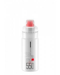 Elite Jet Plus Flaske - Klar - 550 ml - 0190408 - allbike.dk