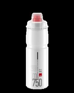 Elite Jet Plus Flaske - Bionedbrydelig - Klar - 750 ml - 0190703 - allbike.dk