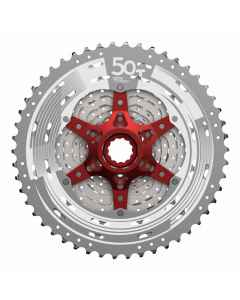 Kassette 11 speed Sunrace sølv MX80 11-50T CSMX80 - 07372352