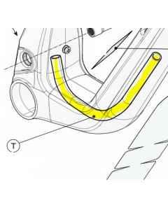 Cannondale Scalpel Dropper Tubing - K32051 - allbike.dk