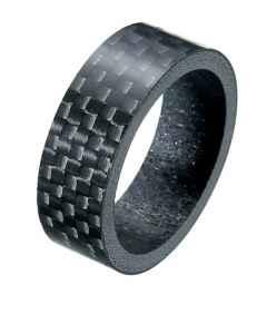Styrfitting carbon afstandsring/spacer 5 mm - 1 1/8 - carbon - 75066020
