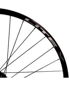 Forhjul Lite X Boost MTB 29in 24mm 32H TA 15/110mm Centerlock TLC Sort - 954134 - allbike.dk