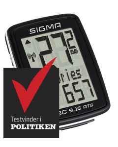 Sigma Sports cykelcomputer BC 9.16 ATS trådløs - 4909162