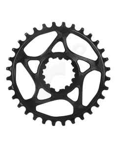 AbsoluteBlack Klinge Narrow/Wide Spiderless SRAM GXP/BOOST - SORT - SRxxBK