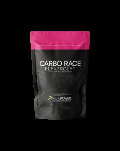 Purepower Energidrik Carbo Race Elektrolyt - 1000g - Hindbær - 6936300 - allbike.dk