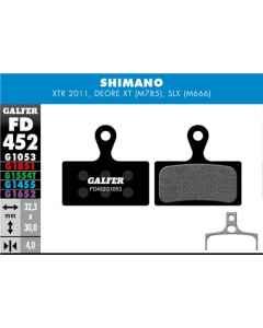 Bremseklods Galfer Shimano XTR/XT - FD452G1053 - allbike.dk