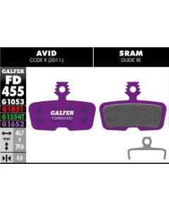 Bremseklods Galfer G1652 AVID CODE - FD455G1652 - allbike.dk
